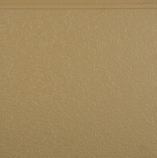Metal embossed exterior wall panel