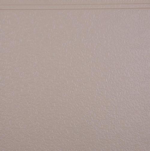 Interior wall metal embossed plate
