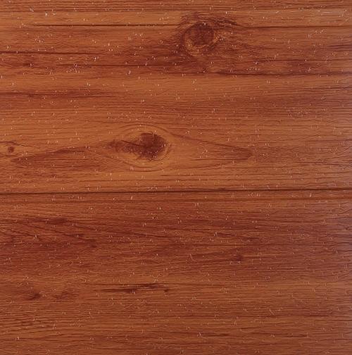 Metal carved plate imitation wood grain