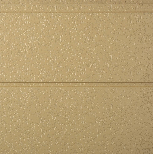 Metal exterior wall insulation board