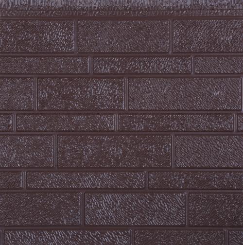 Metal exterior insulation board